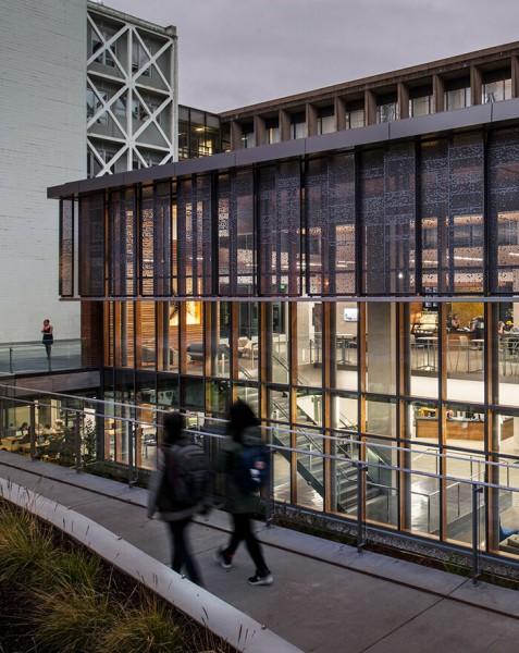 University Of Oregon Allan Price Science Commons