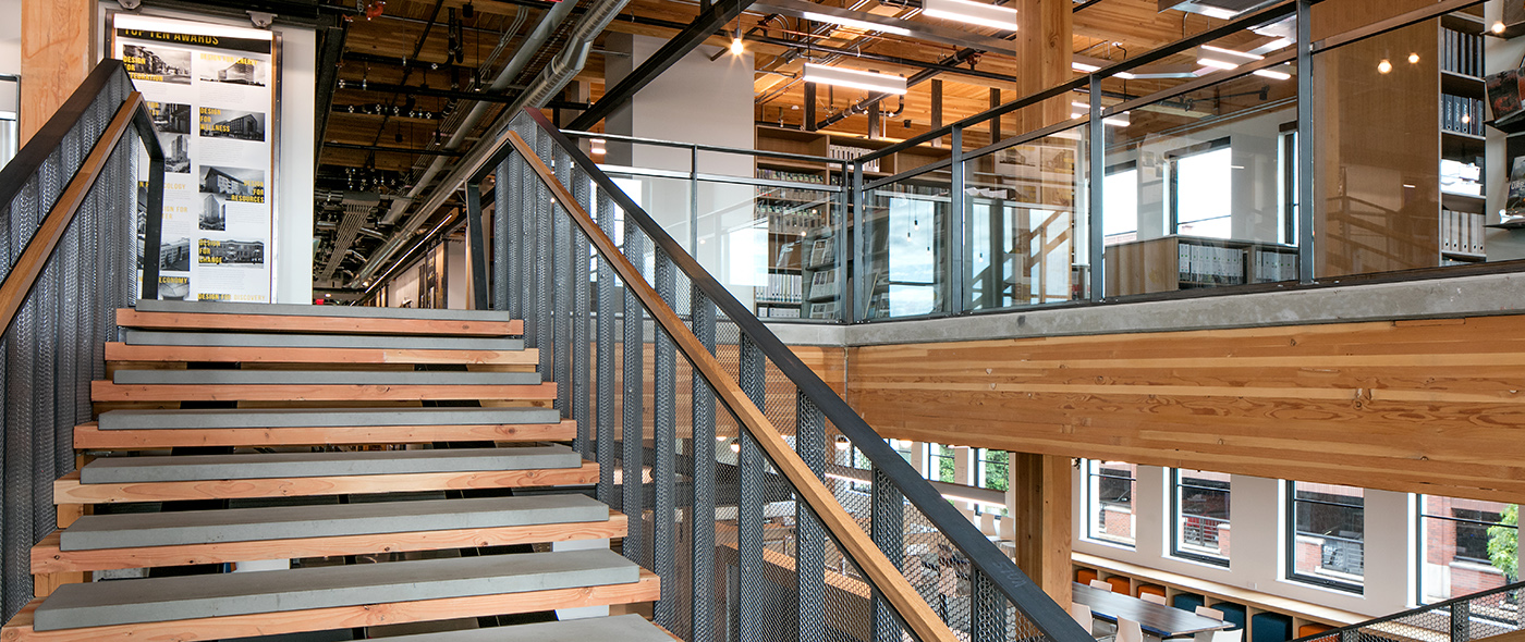 Ankrom Moisan Architects Headquarters General Contractor