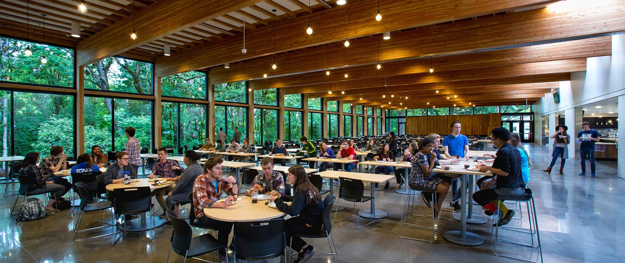 George fox university canyon commons dining hall general for U of t dining hall