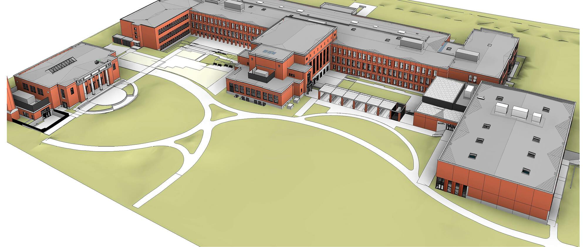 grant high school modernization