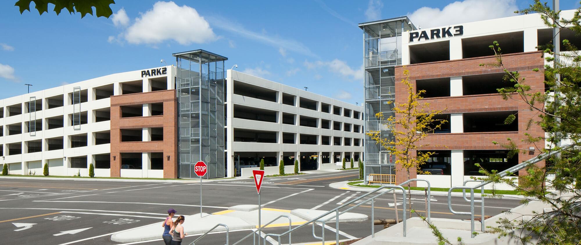 Parking Garages Confidential Client General Contractor