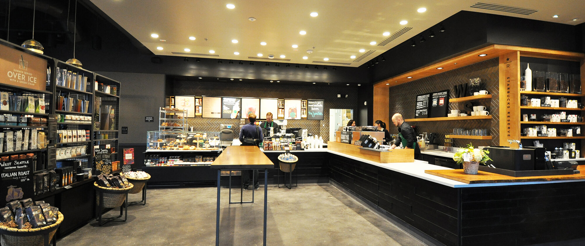 Range The Seattle Store ~ Starbucks coffee general contractor construction